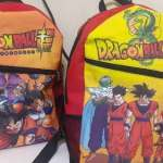 Mochila Dragon Ball Z Sonic Hora De Aventura Spider-man Miku