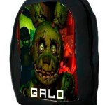 Mochila Five Nights At Freddy S 40 Diseños Fnaf Minecraft