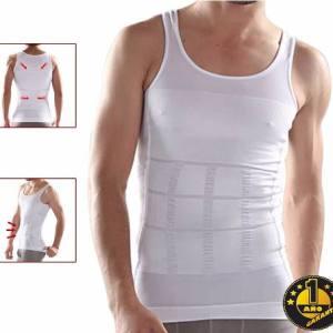 Musculosa Camiseta Faja Reductora Modeladora Masculina Local