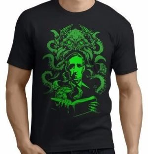 Remera Cthulhu Lovecraft Estampada Serigrafia
