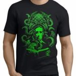 Remera Cthulhu Lovecraft Estampada Serigrafia
