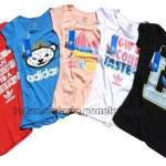 Remeras Adidas Mujer Originals Por Mayor Pack 10u