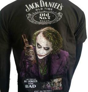 Remeras Jack Daniel's Joker Calidad Premium