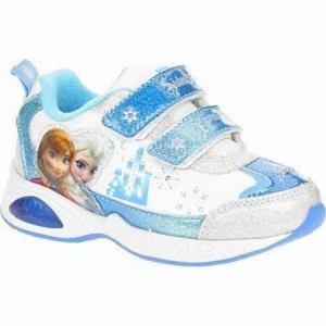 Zapatillas Frozen Con Luz Luces Disney Import Usa
