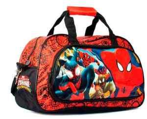 Bolso Spiderman Hombre Araña Original Marvel Wabro Premium