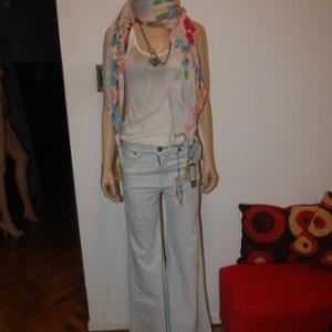 Maria Cher Pantalon Seventys Kuriaky Super Oxford Nva Colecc