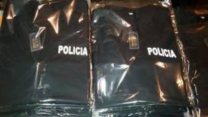 Remera Manga Corta Policia