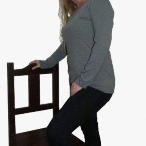 1 Pack X 3 Remeras Basicas Mujer Modal  Lycra Talle Grande