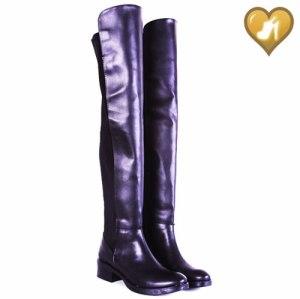 Bota De Montar Bucanera Elastizada Mod Maria 3 Shoes Bayres®