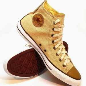 Botitas Converse All Star Hi Linen Natural Line
