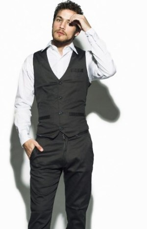 Chaleco De Vestir Slim Fit Elástizado Talles S-m-l-xl-xxl