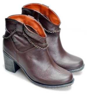 Botas Mujer Botita Texana Botineta Zapatos Almacen De Cueros