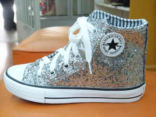 16f9b74d8 zapatillas all star de nena