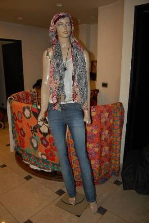 Maria Cher Pantalon Recto Basic Blue Varios Talles