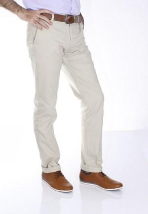 Pantalón Entallado Gabardina De Verano Jean Cartier