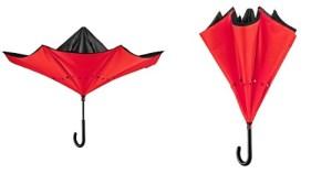 Paraguas Reversible Doble Tela Resistente