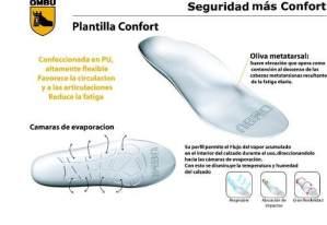 Plantilla Confort Ombú