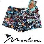 Short Meolans Comics - Malla Hombre Adultos Natación