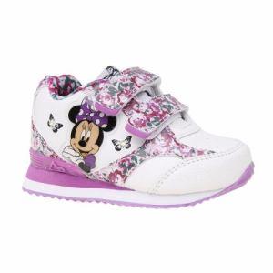 Zapatillas Disney Minnie Con Luces Addnice Flor Mundo Manias
