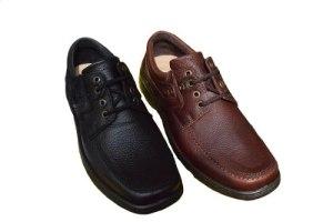 Zapatos De Cuero Para Hombre Base Febo Con Cordones