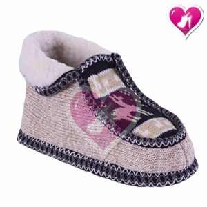 Pantufla Tejida Con Corderito Modelo Norteña De Shoes Bayres
