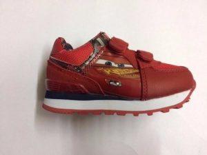 Zapatillas Addnice  Disney Niño Cars Con Luces Envios Rojas