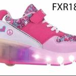 Zapatillas Con Rueda Nena Led Footy Original Mundo Moda Kids