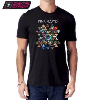 Remeras Pink Floyd Rock 4 Premium Algodon Digital Stamp Dtg