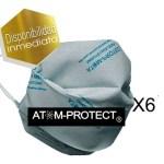 Tapa Boca Social Atom Protect 100% Original X 6 Hay Stock !