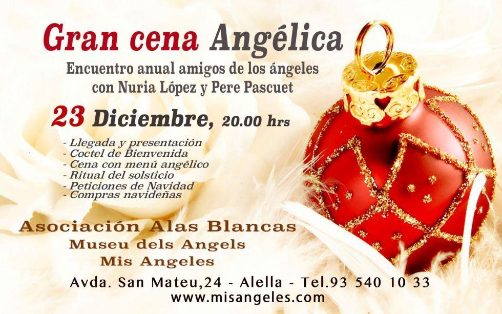 Cena Angelica amigos de los Ángeles