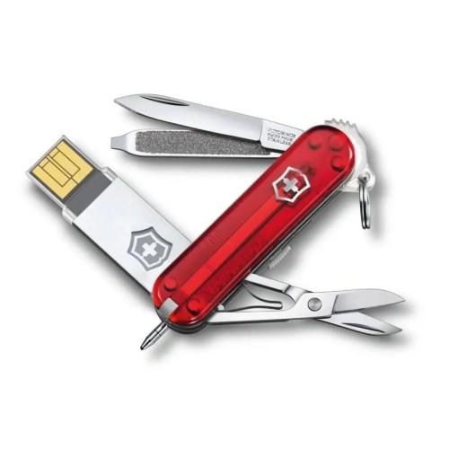 Navaja multiusos Victorinox USB Victorinox@work 32GB