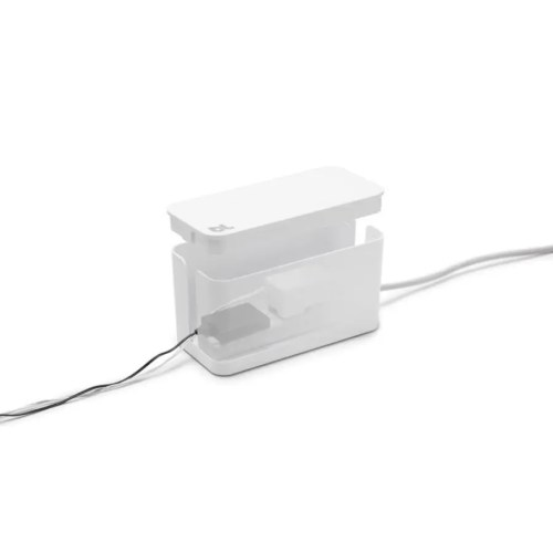 Caja recogecables Cablebox mini blanco