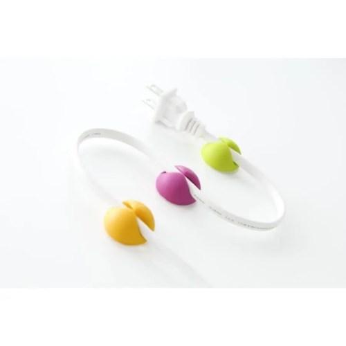 Cable Drop pack 6 colores llamativos (amar/rosa/verde)