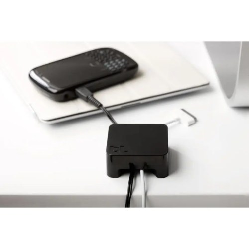 Soporte Sumo para cables negro