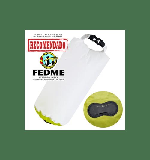 Bolsa auxiliar packdivider Aquapac 008 IPX6 de 8l blanco/verde 1