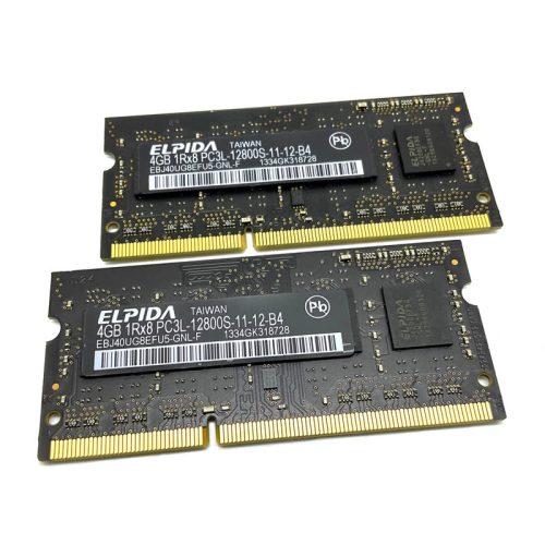 Módulo de memoria Elpida SO-DIMM DDR3 4GB 1600 Mhz Original Apple