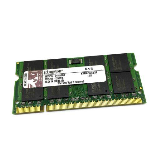 Módulo de memoria Kingston SO-DIMM DDR2 2GB 667 Mhz