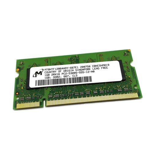 Módulo de memoria Micron SO-DIMM DDR2 1GB 667 Mhz
