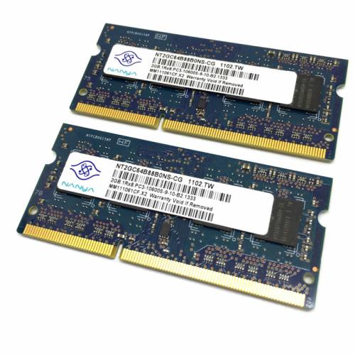 Módulo de memoria Nanya SO-DIMM DDR3 2GB 1333Mhz 1