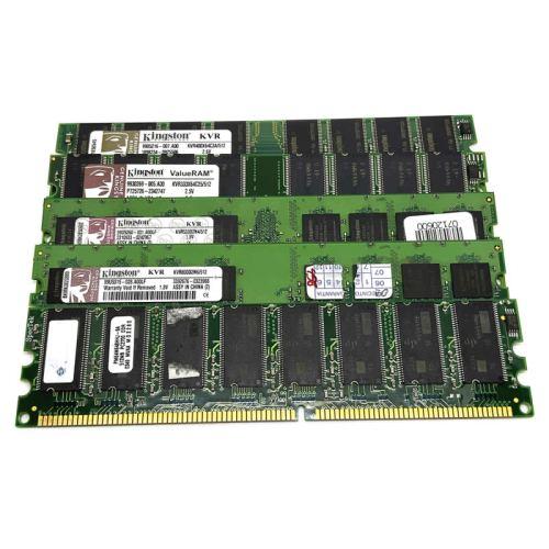 Modulo de memoria RAM DIMM DDR 512MB 333:400:533:800 Mhz
