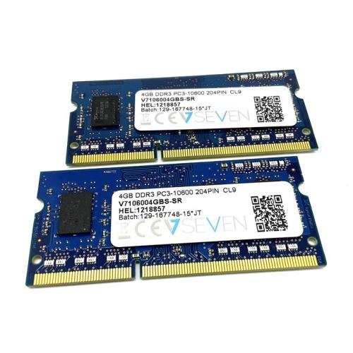 Módulo de memoria VSeven SO-DIMM DDR3 4GB 1333 Mhz 1