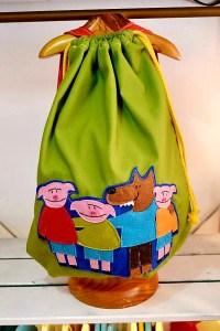 mochila infantil de los tres cerditos