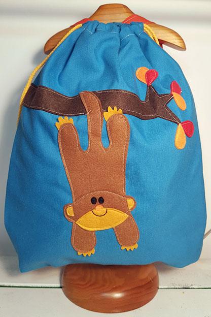 mochila infantil de Mono