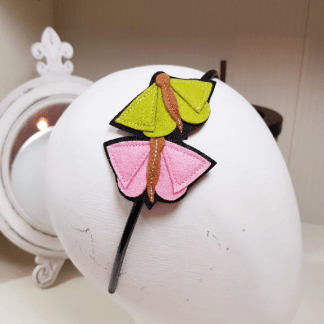 diademas de mariposas