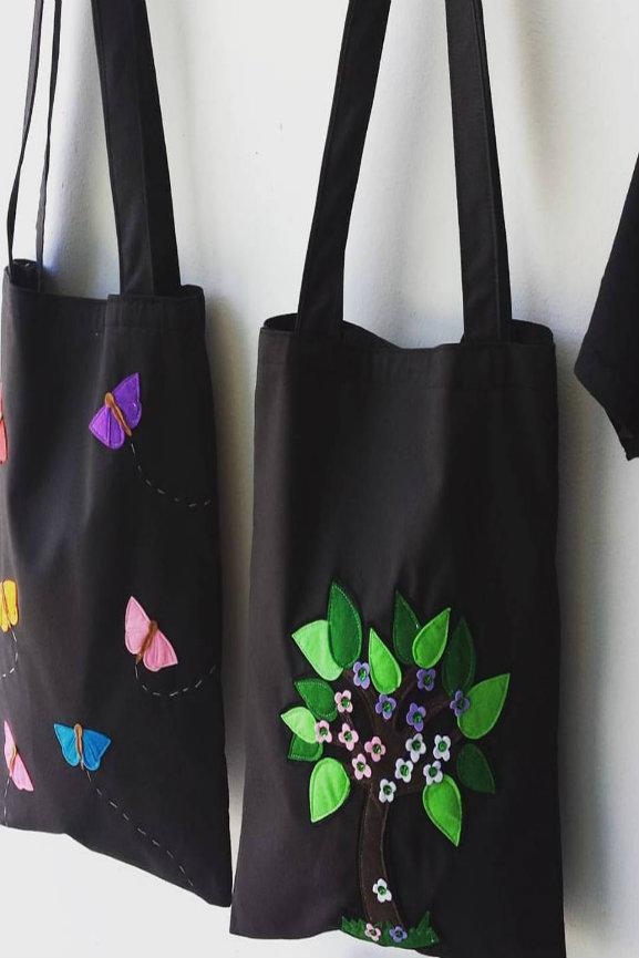 bolsos de tela originales