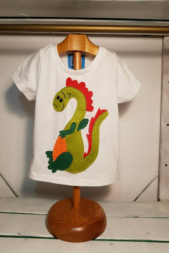 camiseta infantil de Dragon
