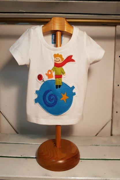 camiseta infantil del principito