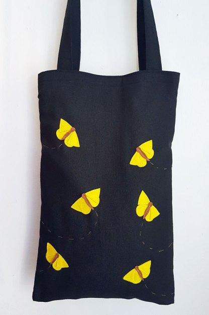 Bolso Mariposas amarillas