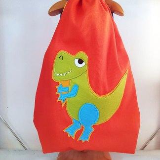 Mochila infantil T-Rex