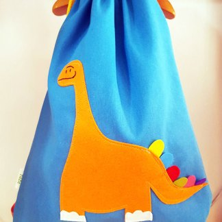 Mochila infantil Dino